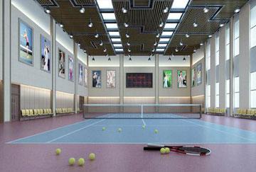 北京舒华阳光 场馆装修 LED照明  网球馆