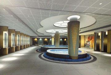 北京舒华阳光 场馆装修 LED照明  健身房