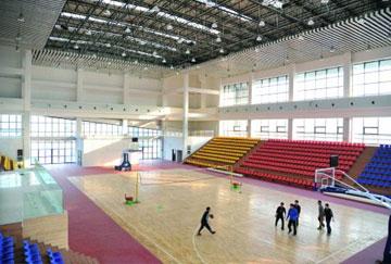 北京舒华阳光 场馆装修 LED照明  篮球馆
