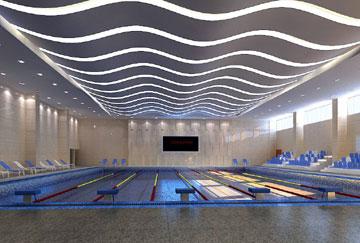 北京舒华阳光 场馆装修 LED照明  游泳馆