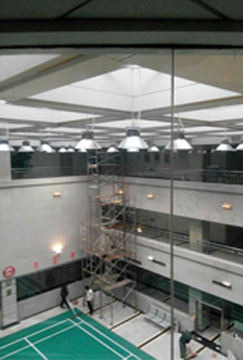 北京舒华阳光 室内羽毛球馆 场馆照明 防炫灯具