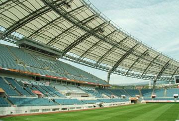 北京舒华阳光 场馆装修 LED照明  钢结构 足球场