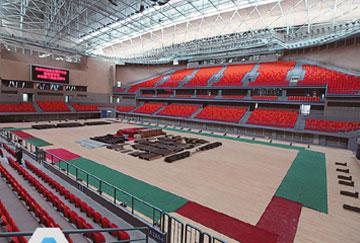 北京舒华阳光 场馆装修 LED照明  钢结构 篮球馆