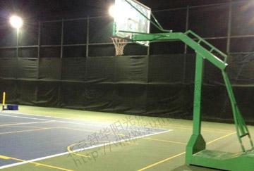 北京舒华阳光 场地照明 室外篮球场  硅pu