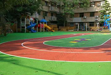 北京舒华阳光 运动场 风雨操场 幼儿园 塑胶