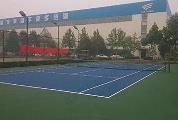 北京舒华阳光 场地照明 室外网球场 丙烯酸  金卤灯