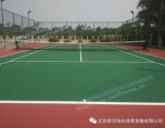 刚果OYO酒店 网球场营造工程完美收工